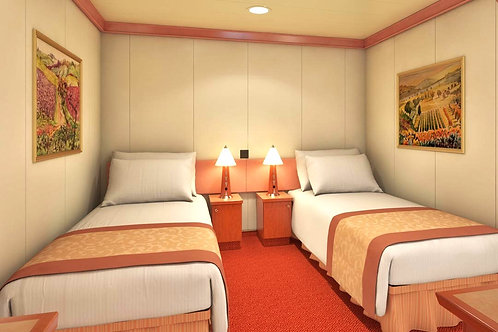 FULL PAYMENT - Inside Cabin  $787.00 plus $24 processing-