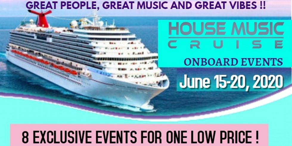 House Cruise Event Wristband