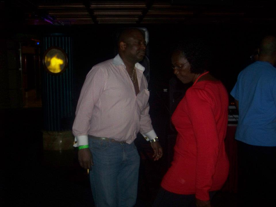 Jackie with Eric dancing 2012