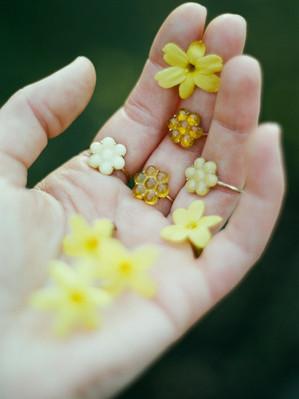 Le Petite Flower rings