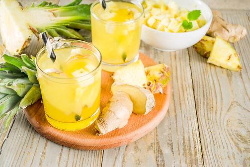 ginger pineapple drink