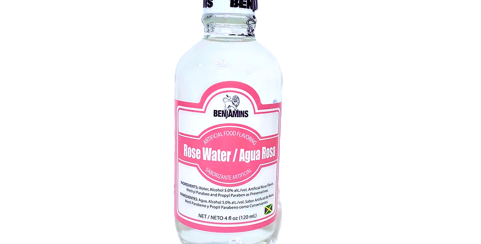rose water extract for baking