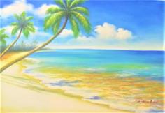 beach fine art painting