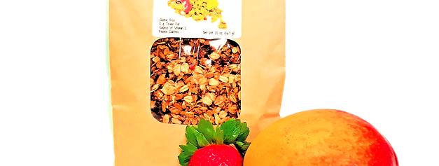 Tropical Fruit Granola