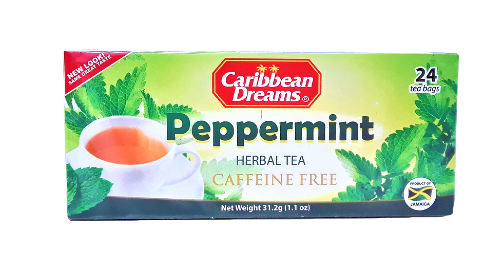 peppermint tea bag