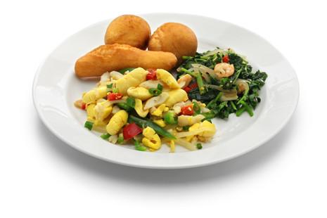 ackee and saltfish dish