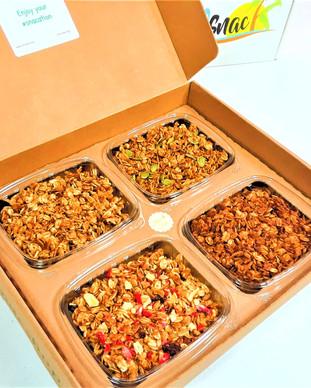 fruit granola box