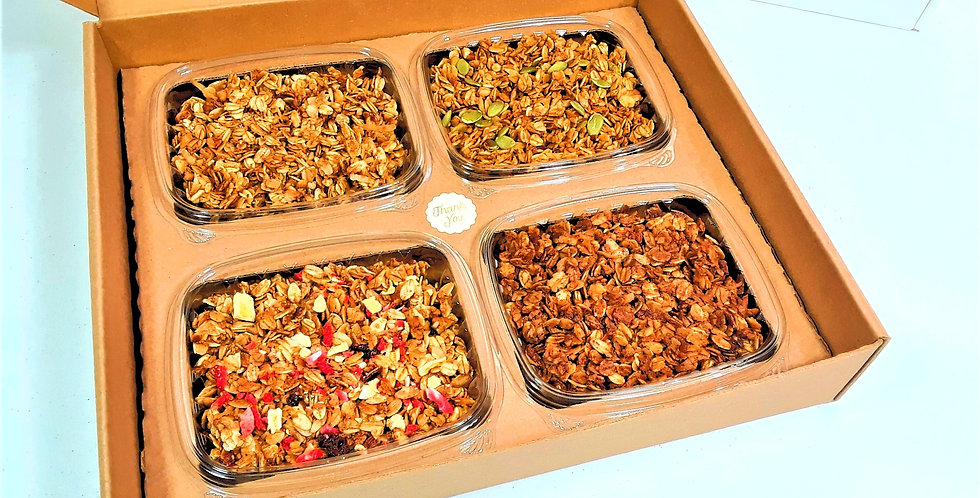 strawberry mango granola