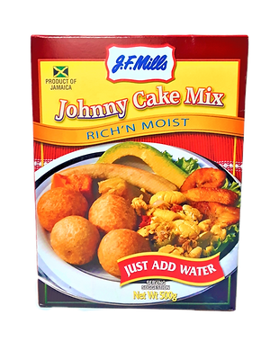 Rich and Moist Packaged Mix -Jamaican Johnny Cakes with recipe