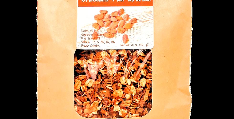 chocolate granola clusters
