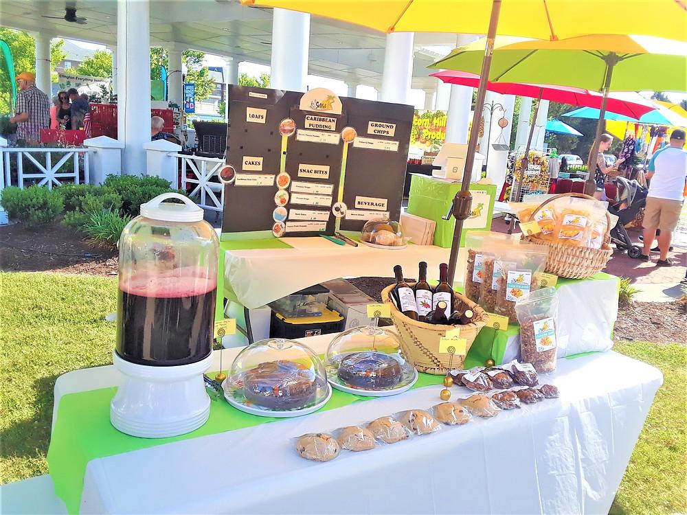 islsnac displays  Caribbean snack foods