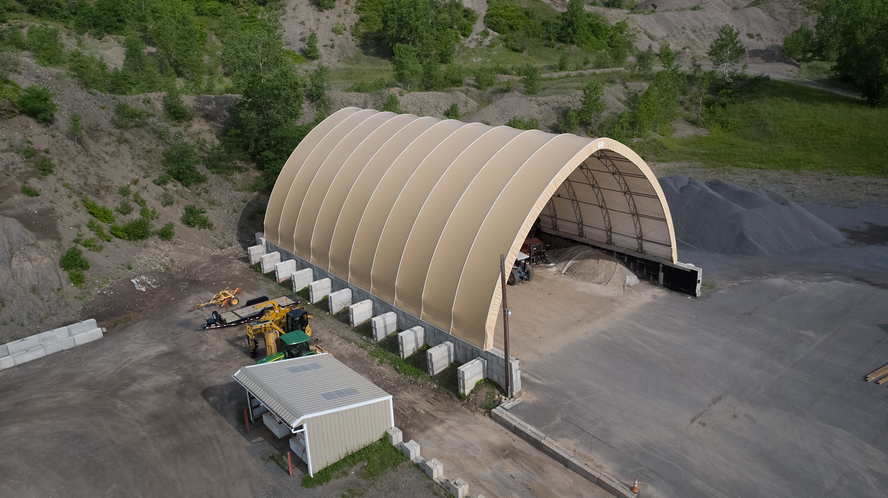 Domes structures - Tridome structures