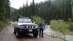 nissan patrol kyrgyzstan djeti-oguz offroad