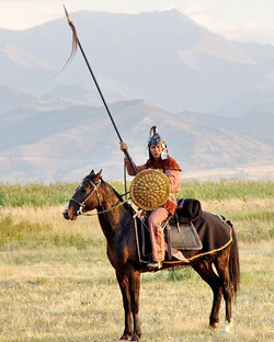 Kyrgyz Warrior Reconstruction