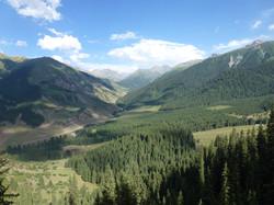 Djeti-Oguz Gorge,  Issyk-Kul
