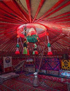 kyrgyz yurt interior