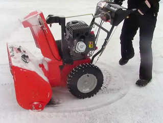 Make sure that snowblower is ready before the snow falls!