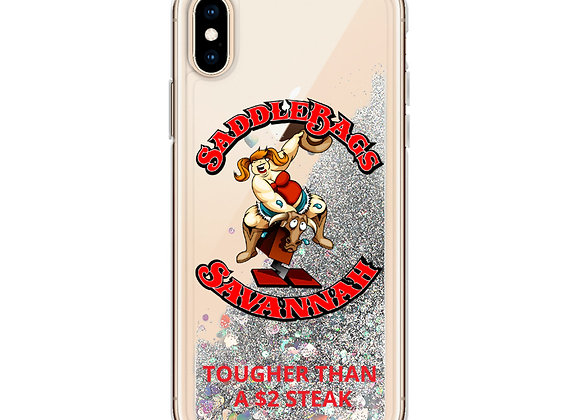 Saddle Liquid Glitter Phone Case