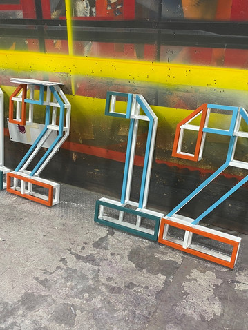 Fabricated Number Signage
