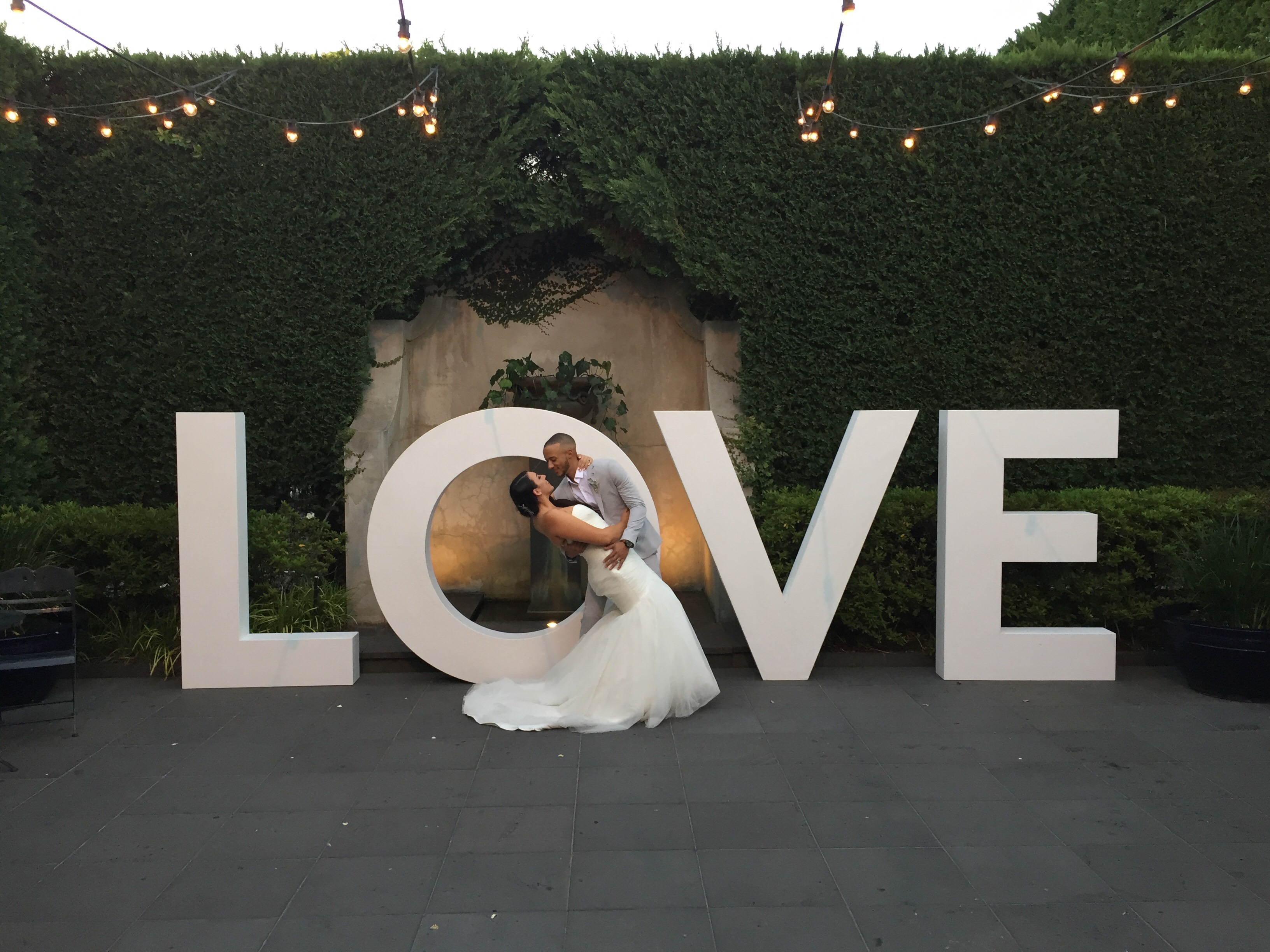 GIANT 1.8M LOVE LETTERS