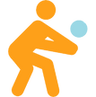 Sunset Beach Volleyball Camp Icon