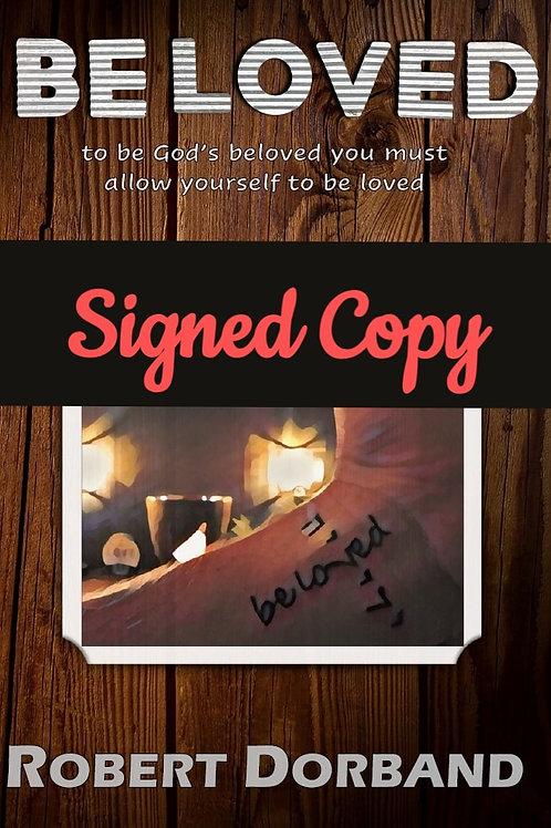 be loved book **with personal note and signed copy**