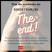 Fim do mandato no SINDETRAN/RJ.
