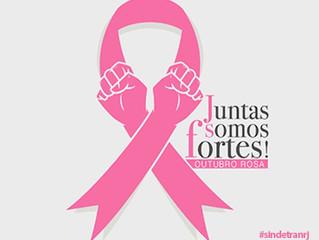 Outubro Rosa - Mês de conscientização Câncer de Mama