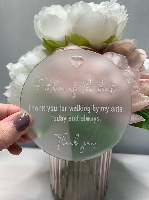 Bridal Party Thank You Note - Frost