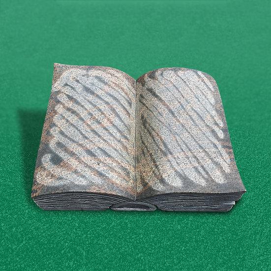 HALMSTAD gravsten bogformet poleret