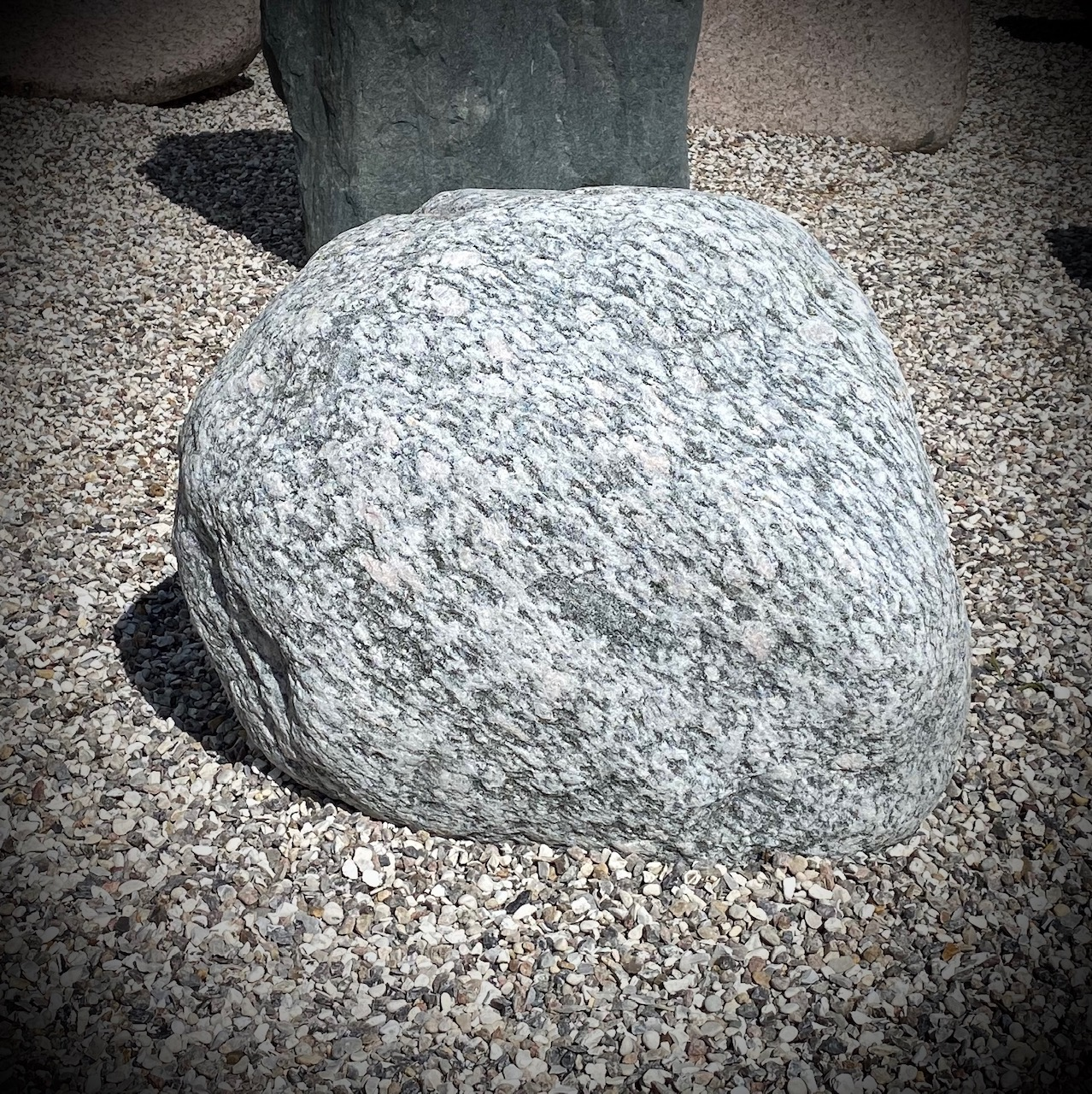 Ru sten fra natur