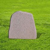 Unika gravsten i lysebrun