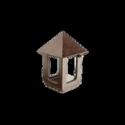 Bronze lanterne - Glat