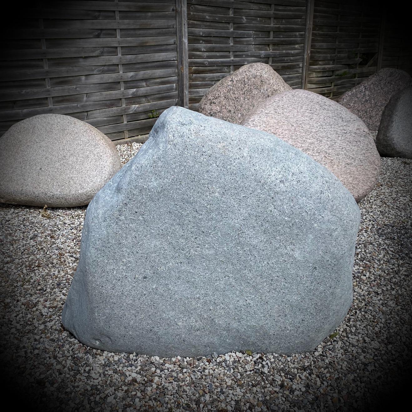 Grå sten fra natur