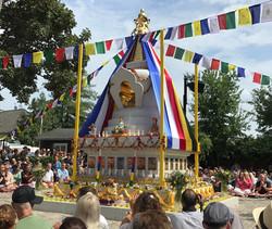 StupaI BUDDHISTISK CENTER KØBENHAVN