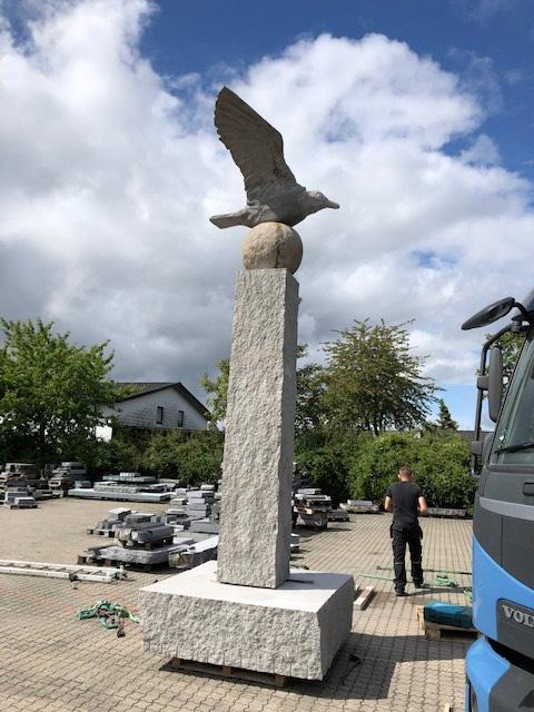 Skulptur af Erik Heide