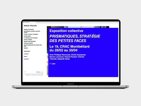 2021 — Site web de Pascal Poulain