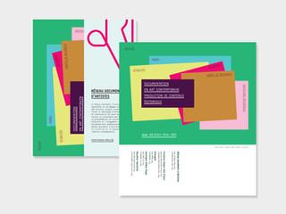 2017 — Flyer annuel du Réseau documents d'artistes
