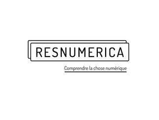 2021 — Identité visuelle du collectif Resnumerica