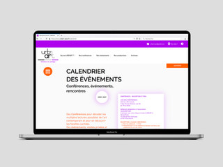 2019 — Site web d'URB'ART