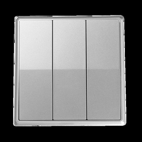 Silver Triple Switch