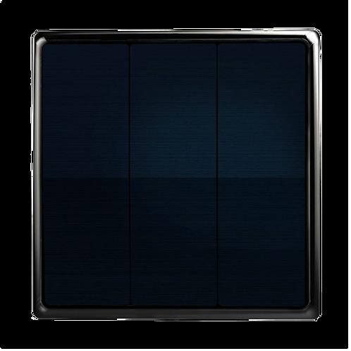 Black Triple Switch