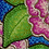 Thumbnail: Pink Flowers on Blue
