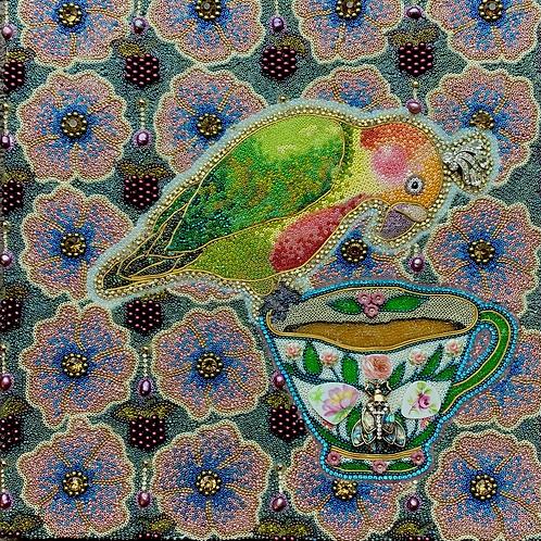 Tea Leaf Reading Birdie