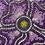 Thumbnail: Purple Flower Gold Background