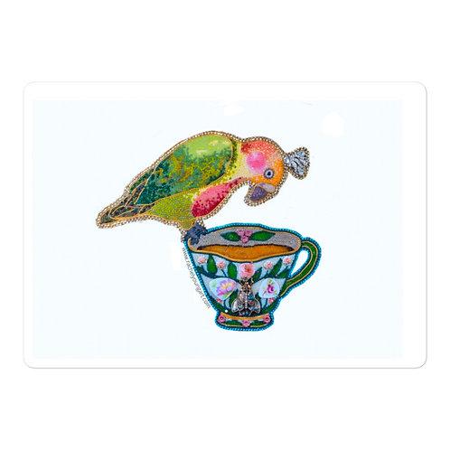 Birdie Tea Sticker