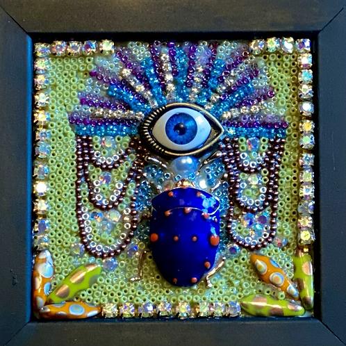 Mini Beetle Mosaic: Beetle  Eye