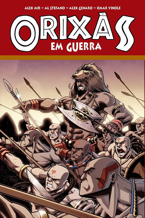 E-book Orixás - em guerra