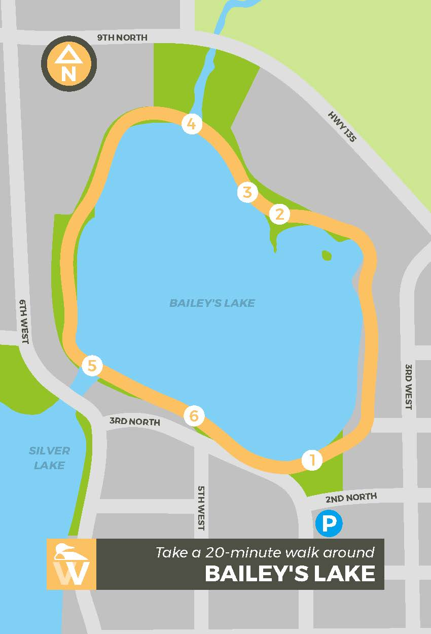 Walking Map_Bailey Lake Front