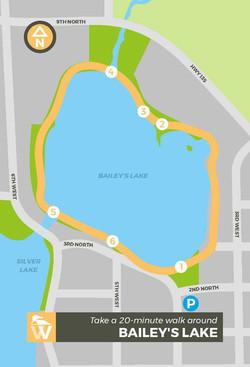 Walking Map_Bailey Lake Front